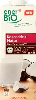 enerBiO, napój kokosowy, 1 l