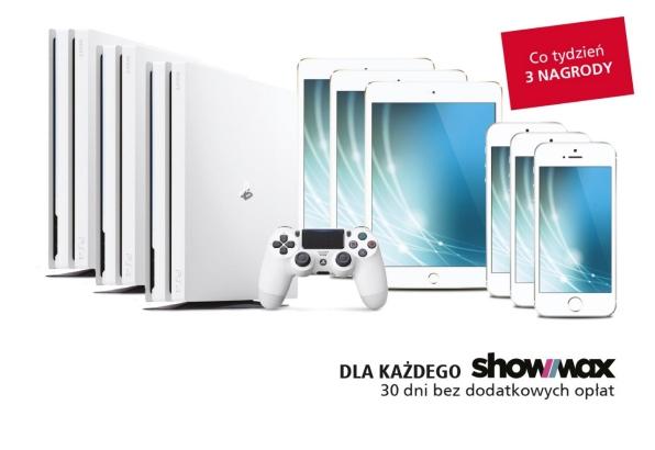 Showmax na 30dni za odebranie paczki w DHL Parcel + Konkurs