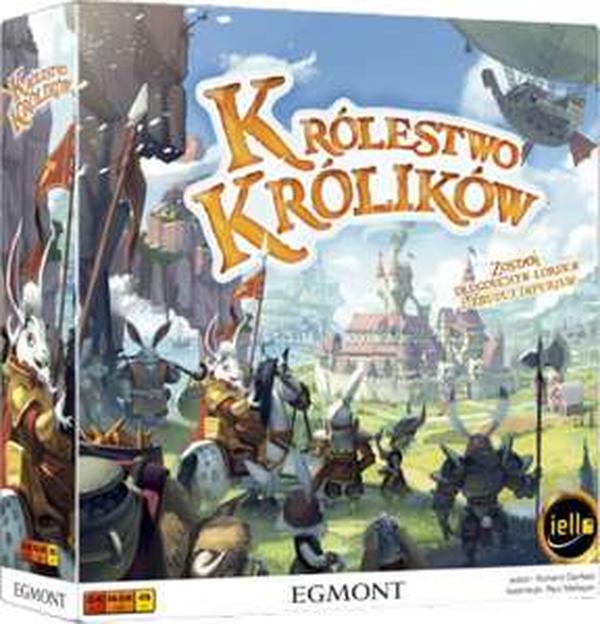 Gra Planszowa Królestwo Królików