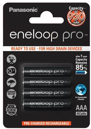 Akumulatorki Panasonic Eneloop AAA za 45 zł @ Satysfakcja