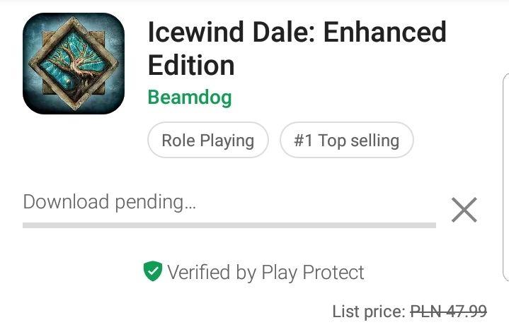 Ice Windale: Enhance edition w Google Play za 8.99