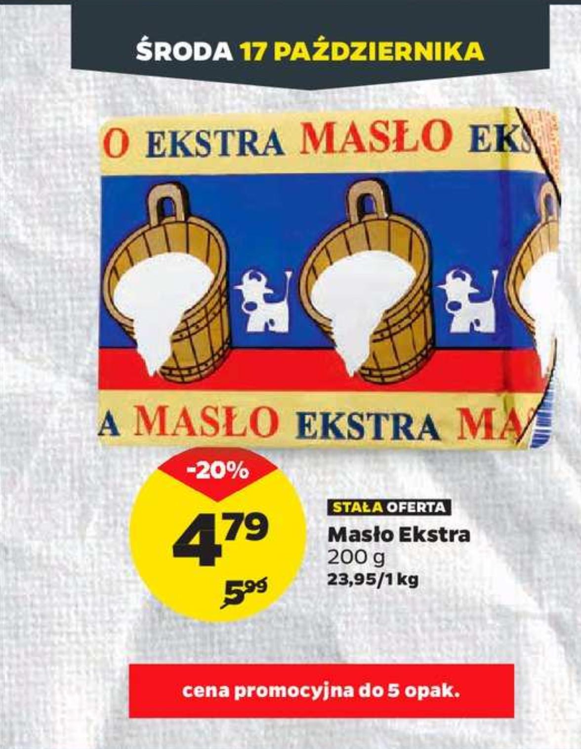 Masło ekstra - Netto