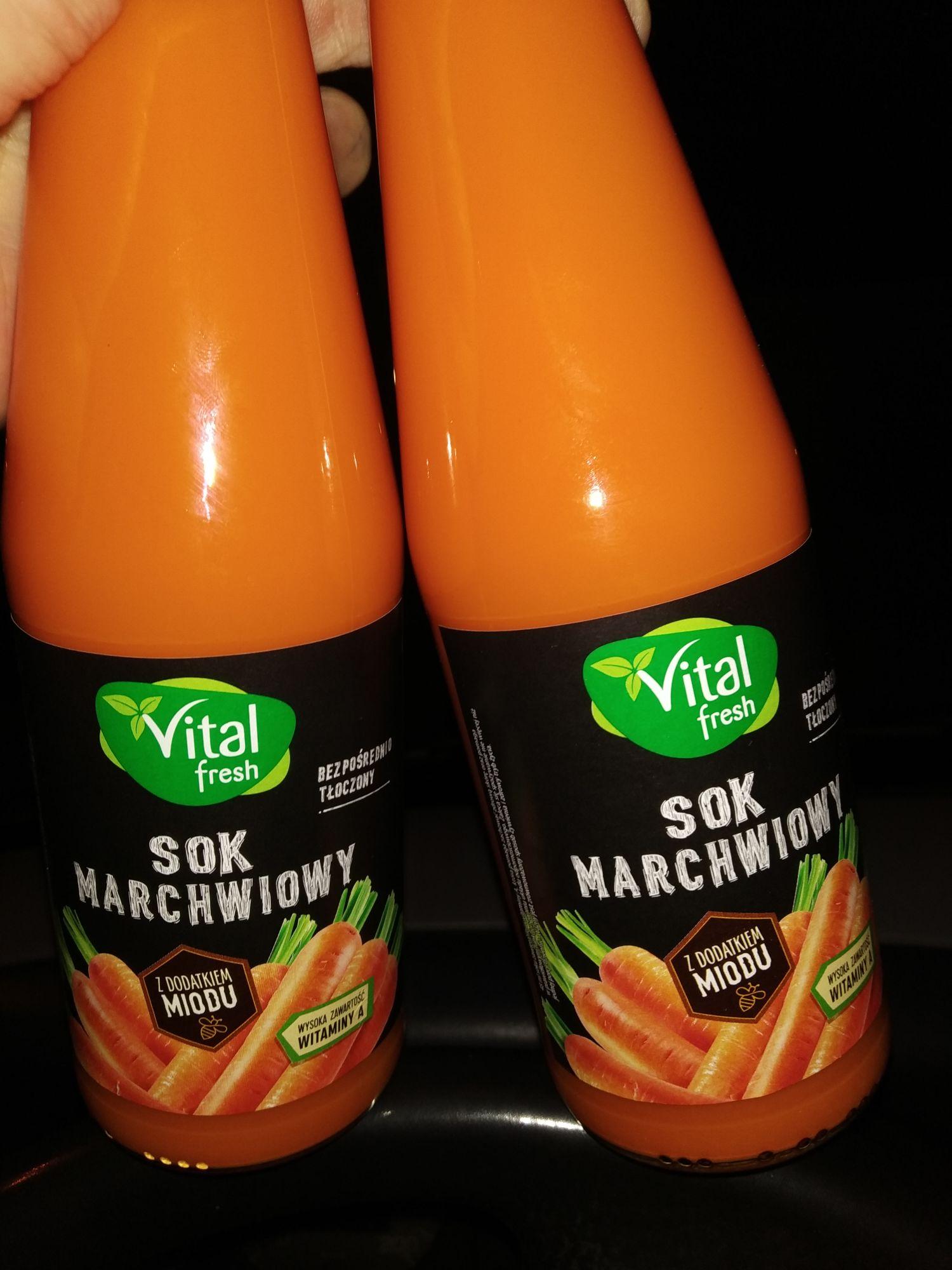 Vital fresh SOK MARCHWIOWY z Miodem 330 ml (przy zakupie 2 sztuk)