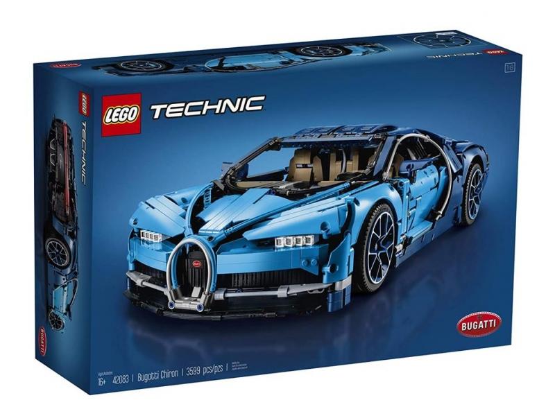 Bugatti Chiron - Lego Technic 42083 za 1189,15zł z wysyłką @ Al.to