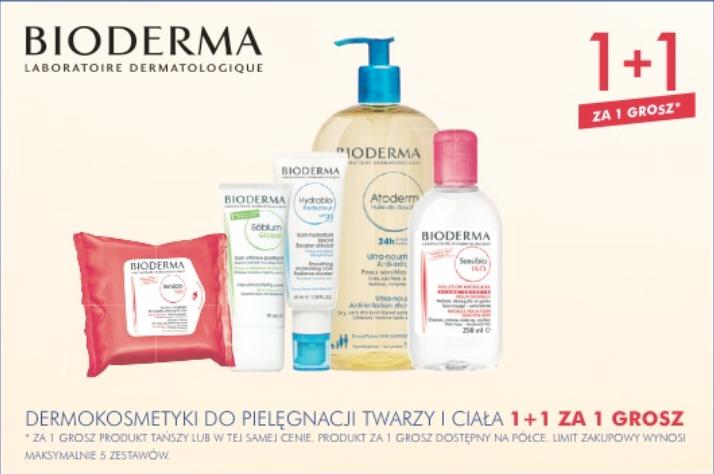 1+1 na markę Bioderma @ Super-Pharm