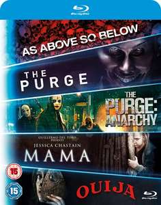 Zestaw filmów na Blu-Ray (Mama/The Purge/The Purge: Anarchy/Ouija/As Above, So Below) @ ZOOM
