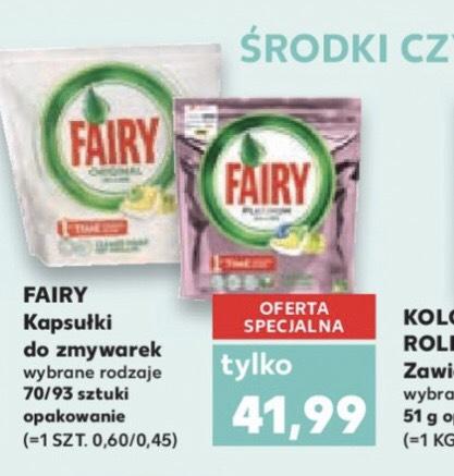 Fairy 70/93szt - Kaufland