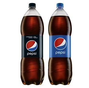 Pepsi 1,75 l - druga butelka o 86% taniej w sklepach BIEDRONKA