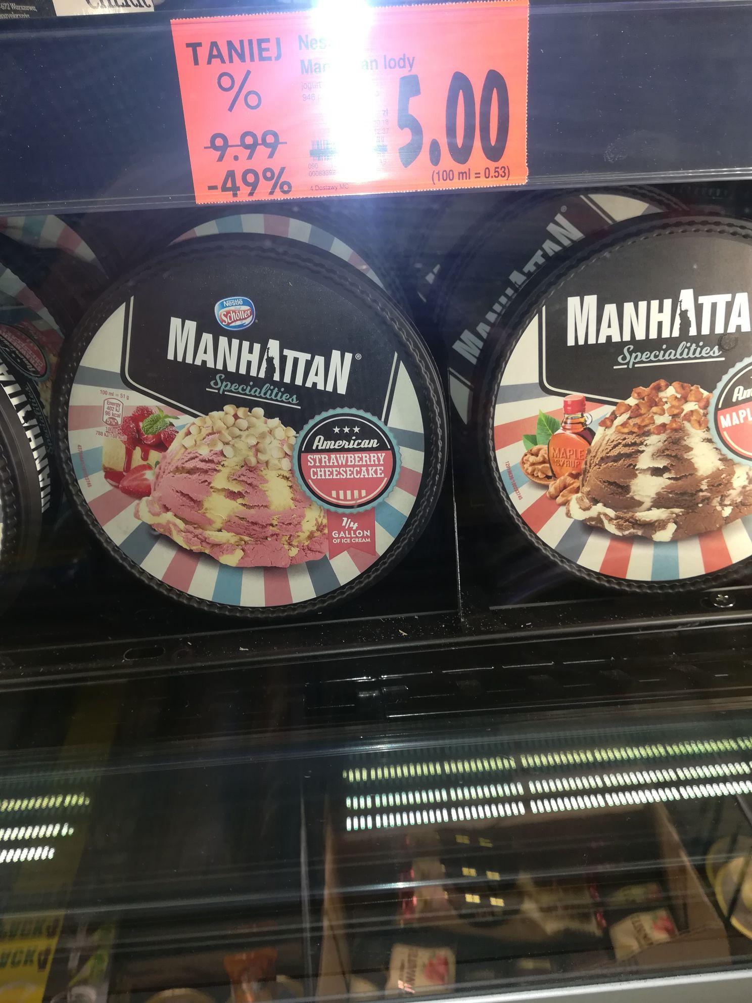 Lody Manhattan kaufland