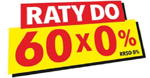 PROMOCJA RATALNA - 60 rat 0% - RTV EURO AGD