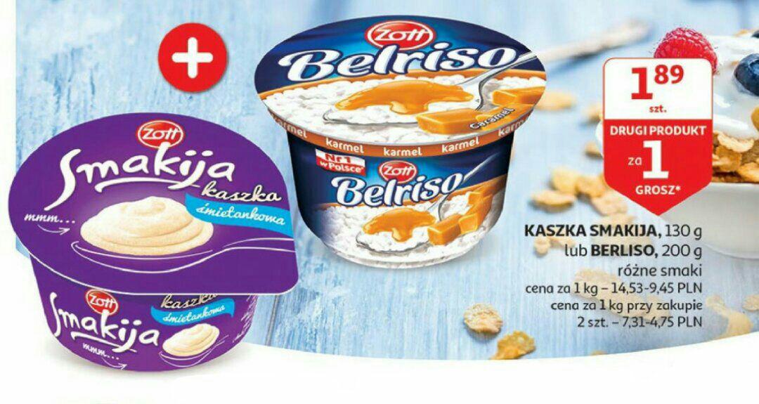 Belriso lub Smakija drugi produkt za 1 gr @Auchan