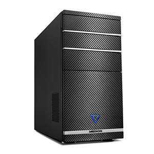 Medion Akoya P66024 - Komputer stacjonarny (Intel Core i7-8700, 8GB RAM, 1TB HDD + SSD 128GB, NVIDIA GeForce GTX1050Ti-4GB