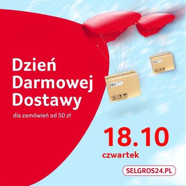 Darmowa dostawa w Selgros24.pl 18.10 MWZ 50zł