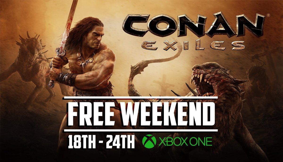 Darmowy weekend z Conan Exiles Xbox One 18-24.10