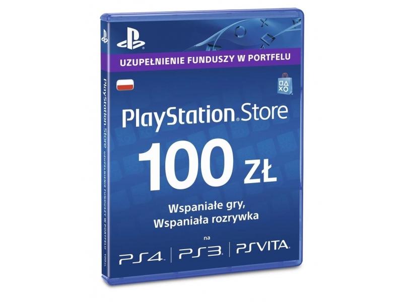 Doładowanie Playstation Network 100PLN