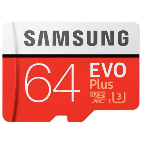 Karta SDXC Samsung EVO Plus U3 64GB CEBULA!