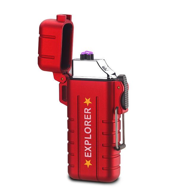KCASA KC-LF56 USB Charge Arc Lighter Zapalniczka plazmowa + prezenty