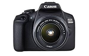 Lustrzanka Canon 2000D + obiektyw 18-55mm  IS II za ~1328zł @ Amazon