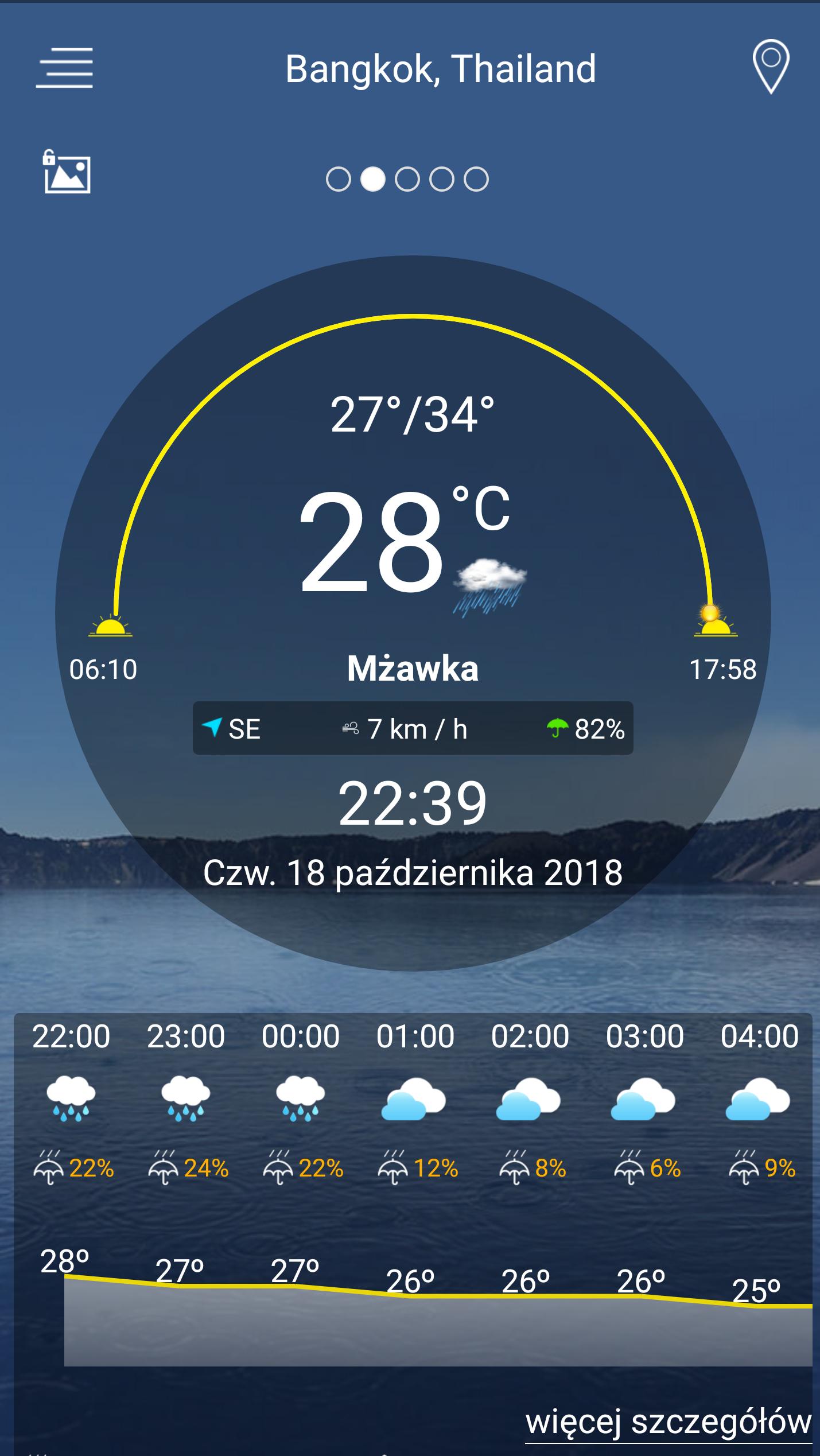 Pogoda na Androida