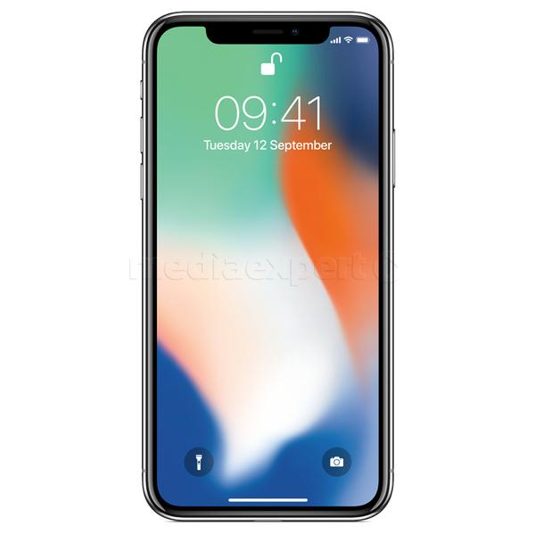 iPhone X 64 GB Silver w dobrej cenie