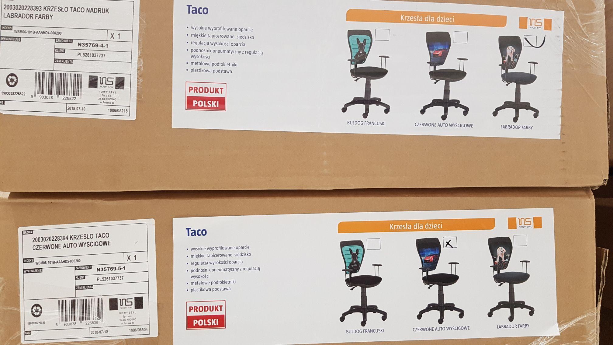 Krzesło obrotowe Taco w Tesco