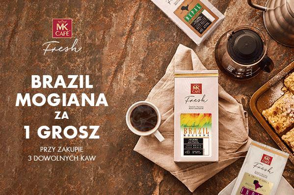 Brazil Mogiana za 1 gr przy zakupie 3 dowolnych kaw
