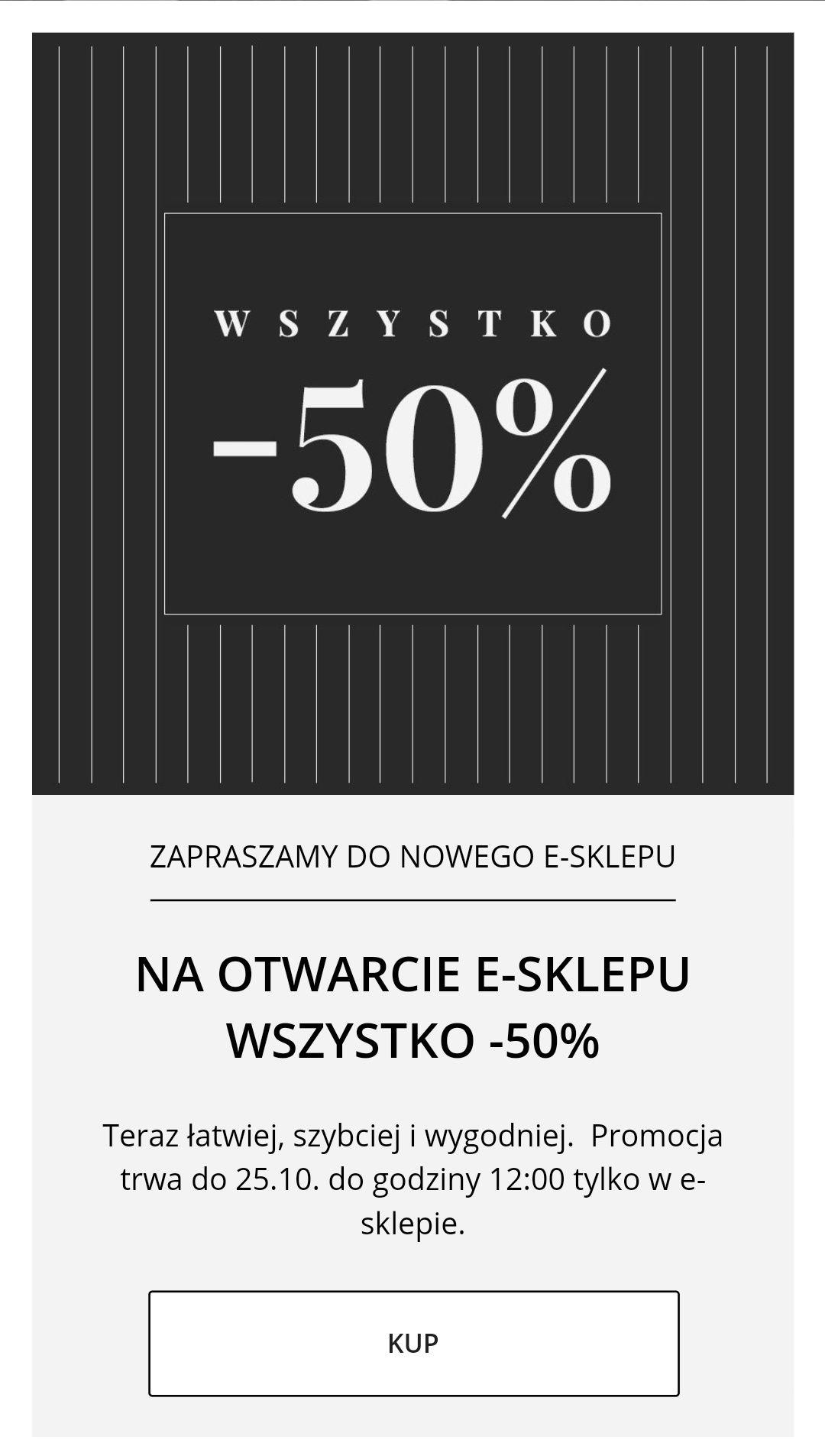BYTOM na otwarcie e-sklepu wszystko -50%