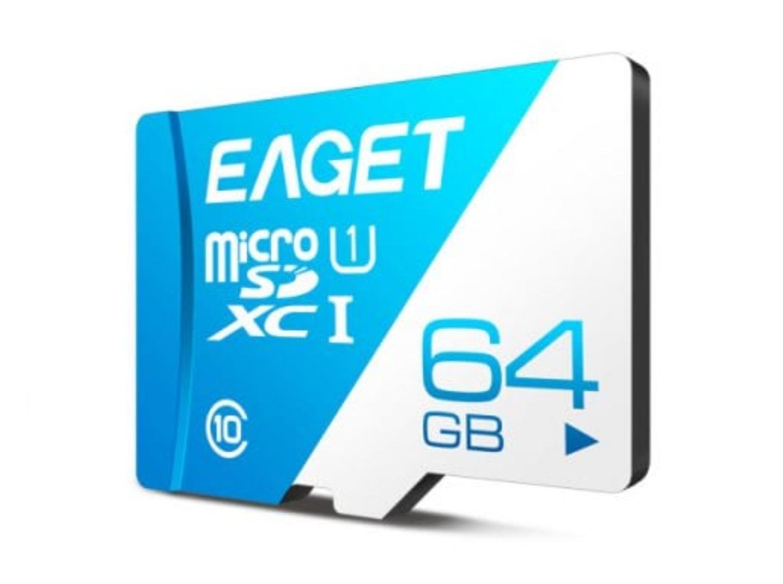 Karta pamięci EAGET 64GB T1 Class 10 80 Mb/s