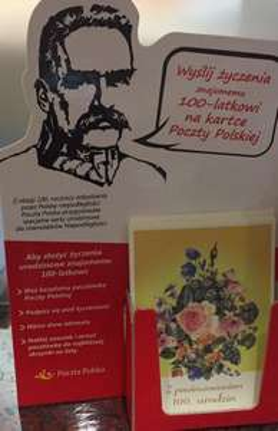 Darmowa kartka życzenia dla 100-latka @ Poczta Polska