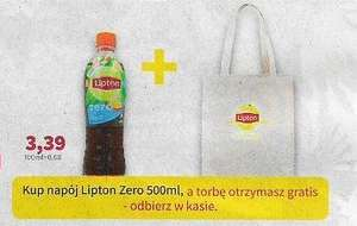 Torba gratis do Liptona Zero @Rossmann