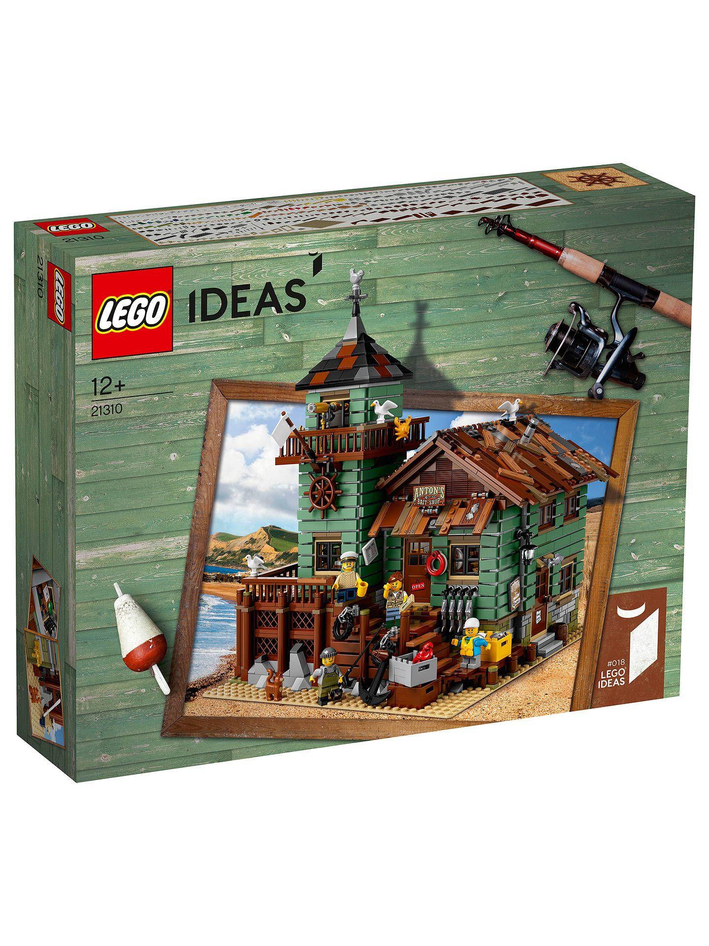 Lego Stary sklep wędkarski 21310 Plus kilka ciekawych