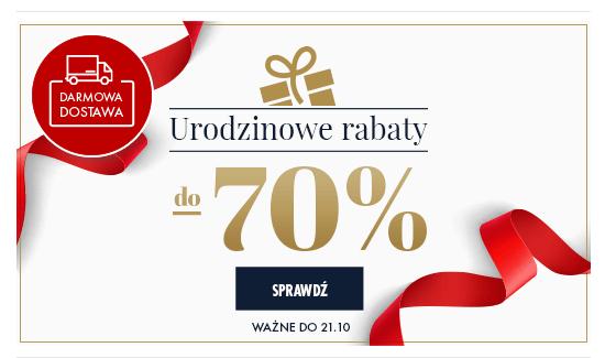 Rabat do 70%. Urodziny WITTCHEN