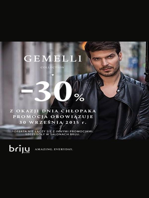 Rabat -30% na kolekcję Gemelli @ Briju