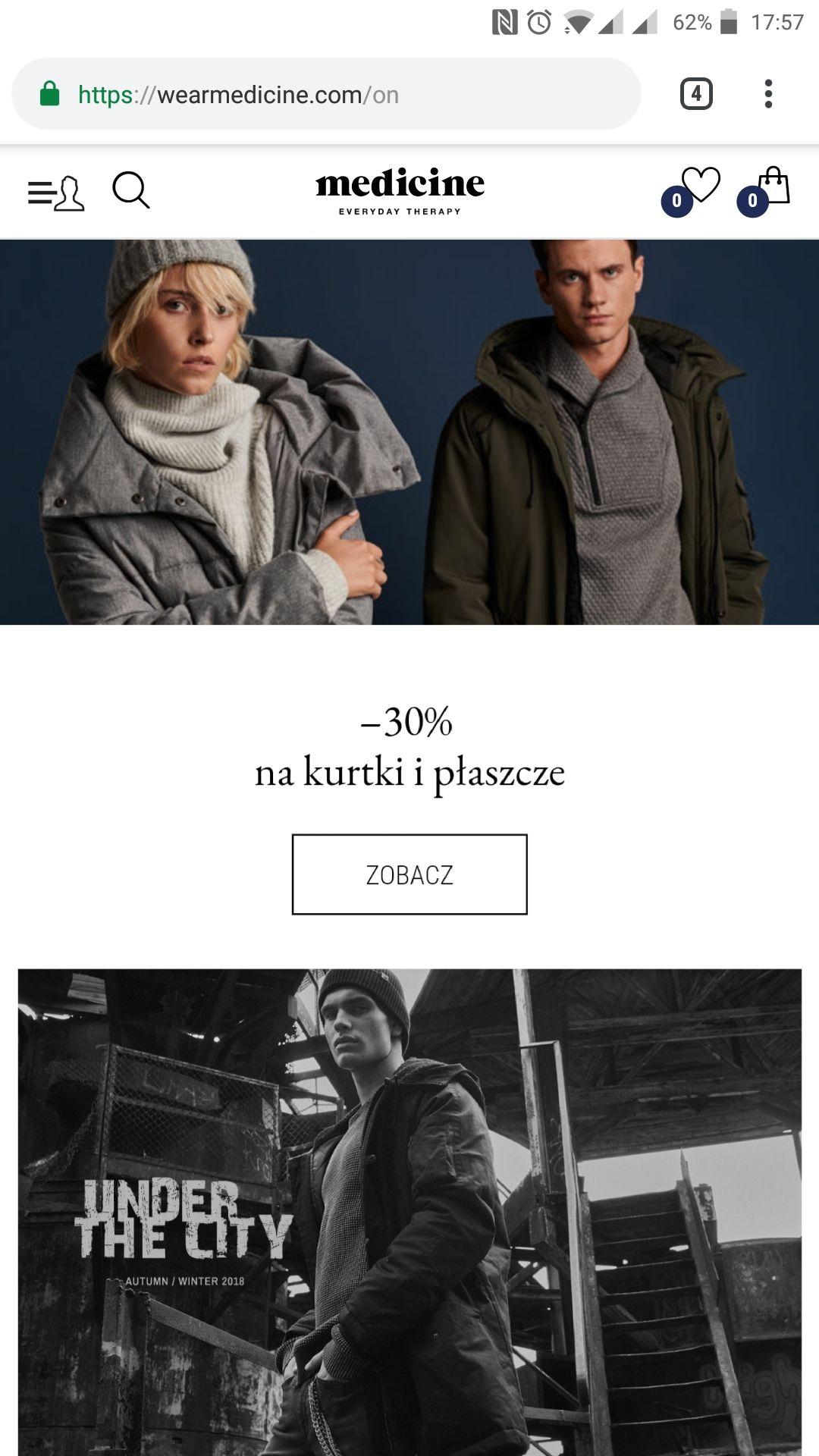 MEDICINE kurtki i płaszcze -30%