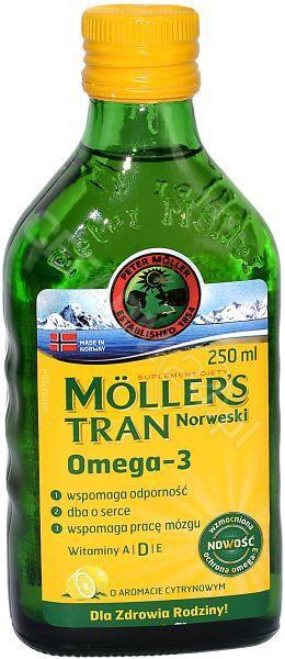 Mollers tran norweski 250 ml @cefarm24