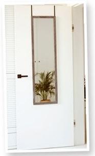 Lustro z możliwością zawieszenia na ścianie lub na drzwiach @Biedronka