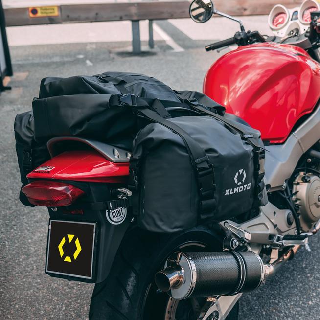 Torby mototcyklowe XLMOTO H2O Zestaw 2+1