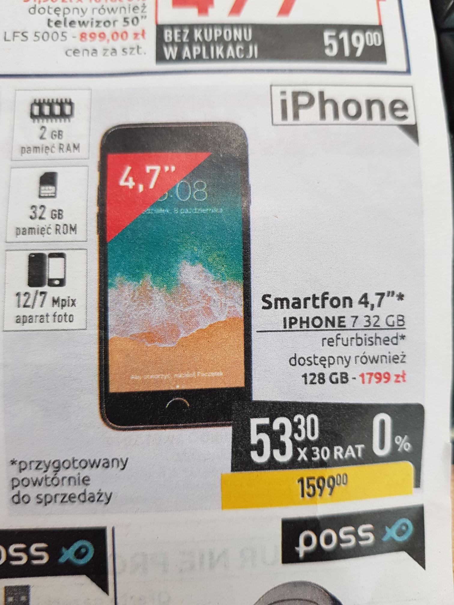 Iphone 7 32Gb Refabrykowany Carrefour