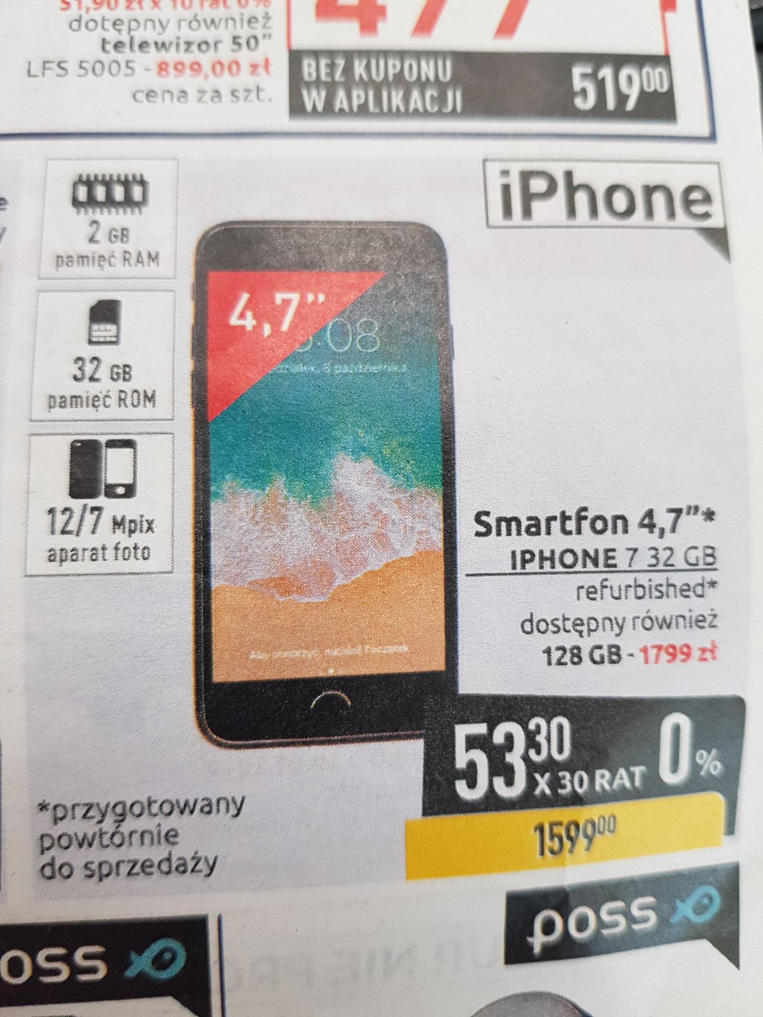 iPhone 7 128Gb Carrefour Refabrykowany