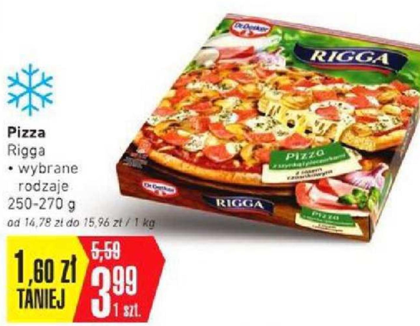 Pizza Rigga  -  Intermarche