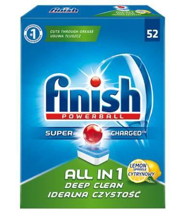 Tabletki Finish All-in-one  0,31 zł/szt.