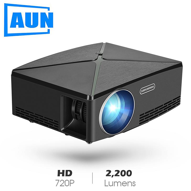 Projektor 720p AUN SimpleBeamer C80