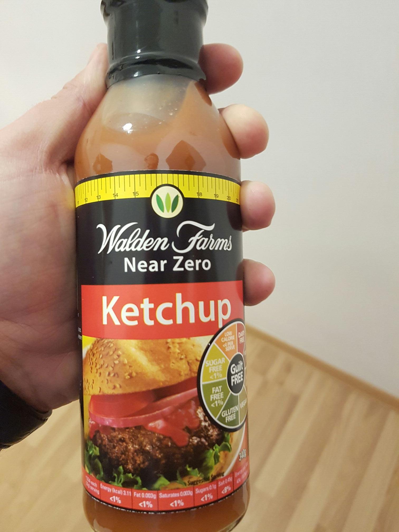WALDEN FARMS Sauce Ketchup 340ml  Krotka data!