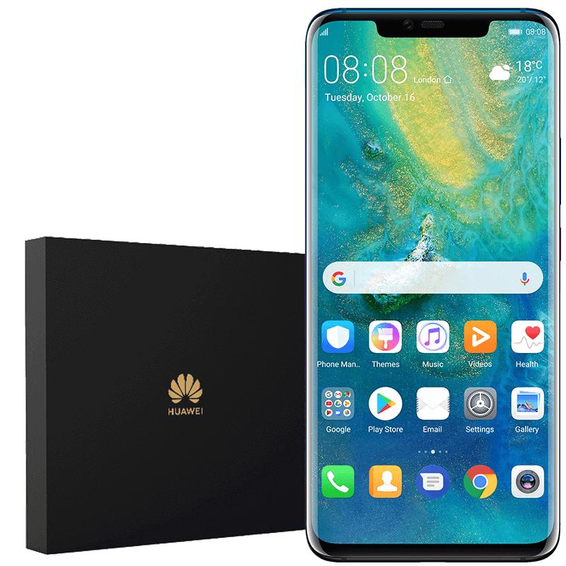 Tylko dla posiadaczy usług mobilnych Orange - Huawei Mate 20 Pro Dual SIM w zestawie z ładowarką indukcyjną i kartą pamięci