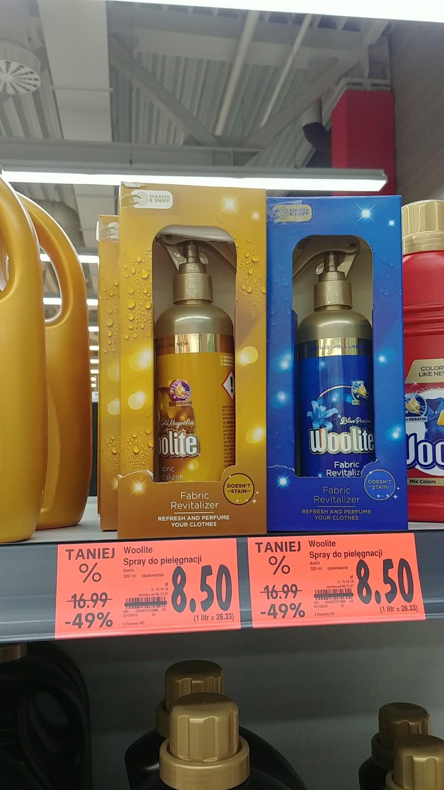 Woolite spray do tkanin @ Kaufland