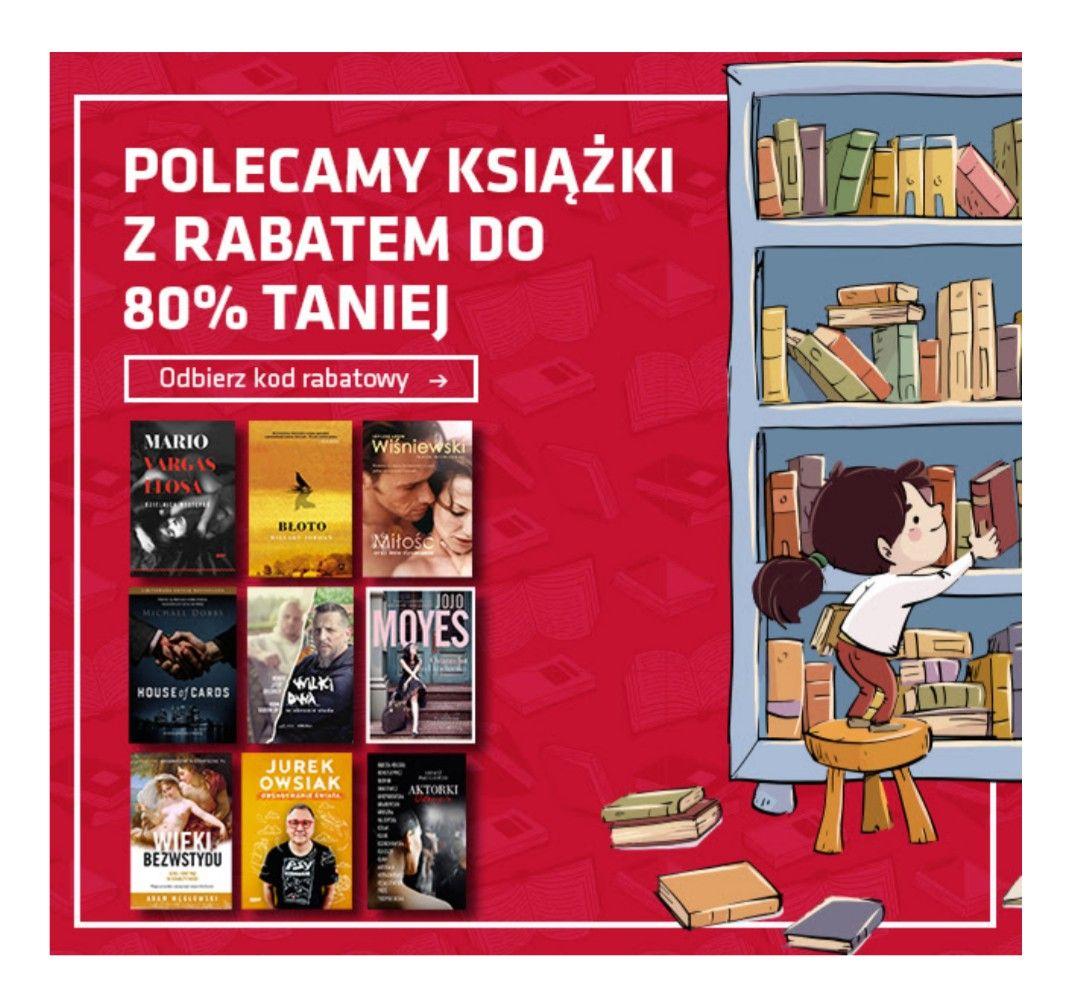 Książki  do - 80%  na matras.pl