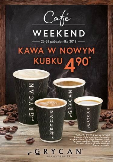 [26-28.10] Kawa na wynos za 4,90zł @ Grycan
