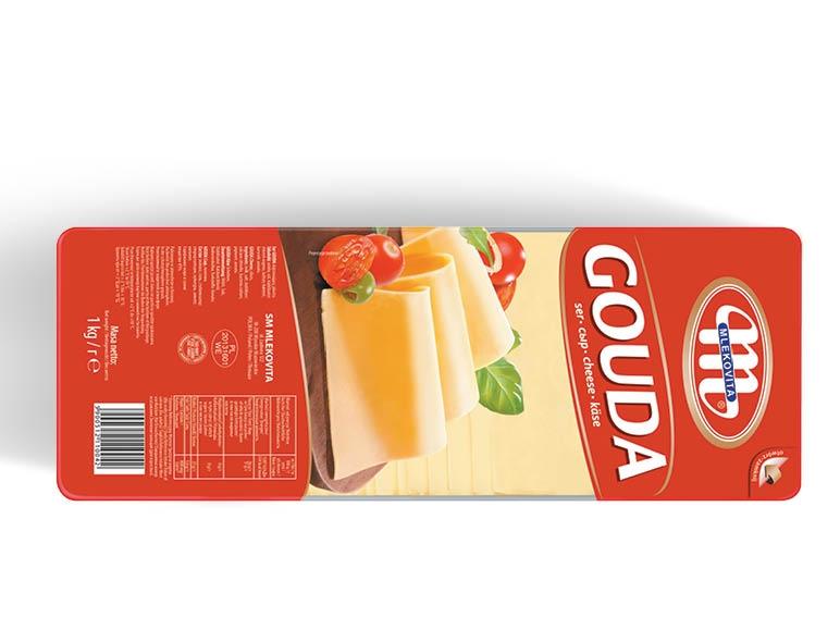 Ser żółty Gouda 1kg w plastrach za 11 zł @ Lidl