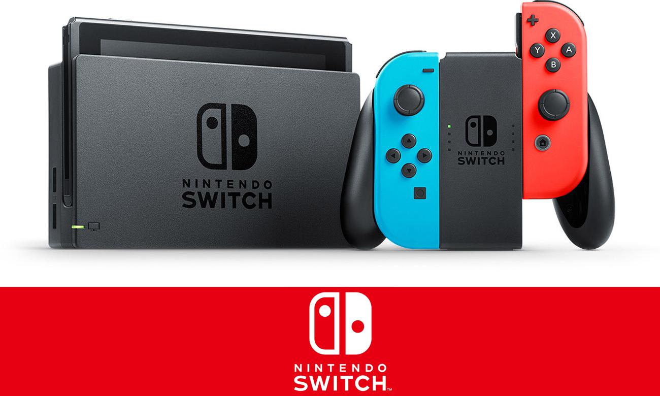 Nintendo Switch (Neon) za 1255zł z wysyłką @ X-Kom