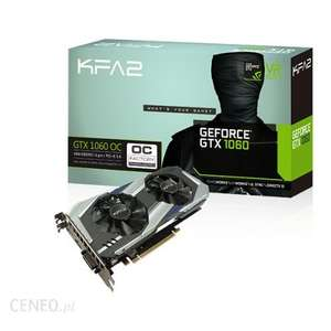 KFA2 GeForce nVidia GTX 1060 6GB z Niemiec